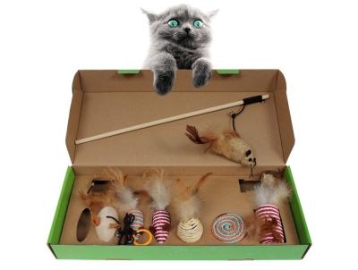 [펫비] 고양이 낚시대 장난감 7종 세트