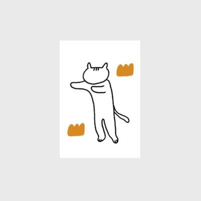 [엽서]Stretch Cat