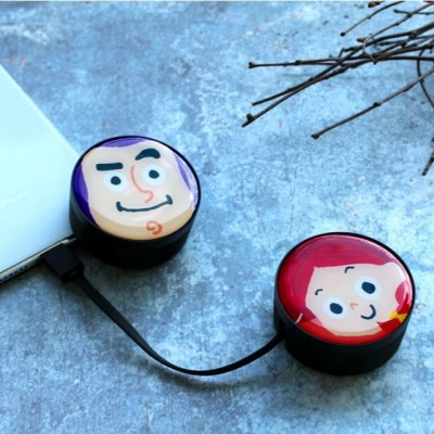 디즈니 토이스토리 USB 릴케이블