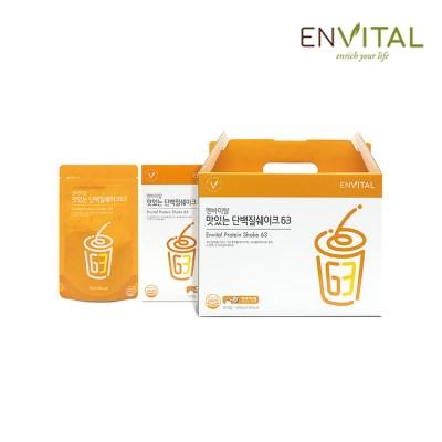 엔바이탈 맛있는 단백질쉐이크63(30포)
