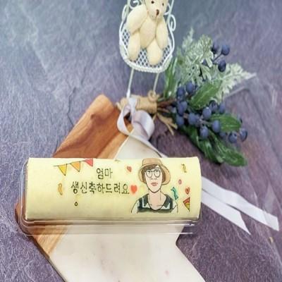 🎉 축하디자인 롤케이크 (22*5cm) 🎉