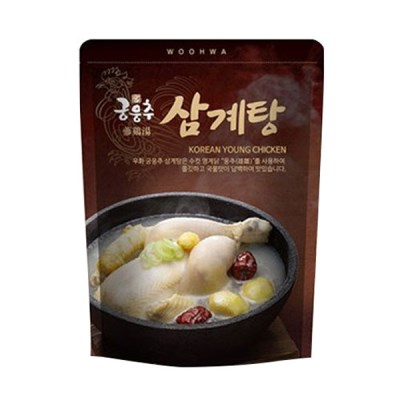 [우화] 국내산 저칼로리 보양식 궁웅추 삼계탕 1kgX3팩_(1380097)