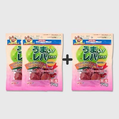 [유통기한 20.02.01]닭간 스낵 + 녹황색 야채 70g [2+1]