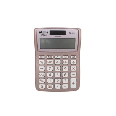 아스트 계산기 IC-101(신) 핑크
