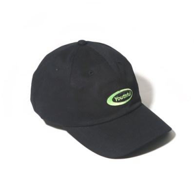 OVAL CURVED CAP-BLACK 9/02 예약배송