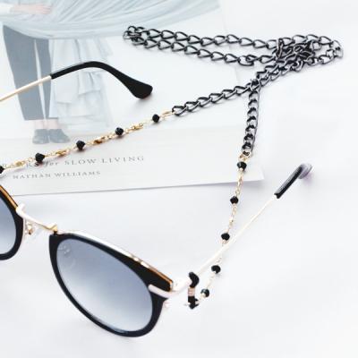 리비아 블랙&골드 안경 체인_(1056082)