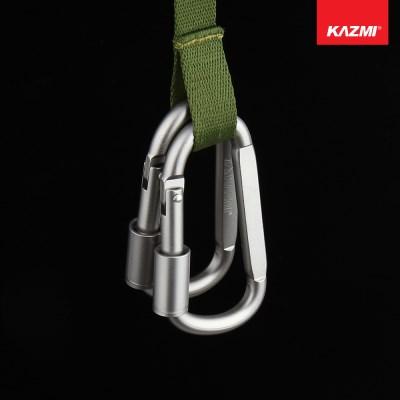 카즈미 카라비너 C82L K3T3T319 / 캠핑용품 텐트용품 등산용품