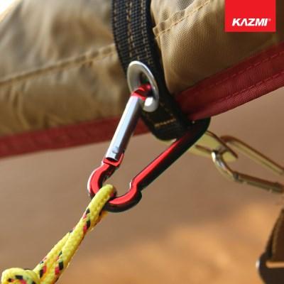 카즈미 카라비너 C50 K3T3T316 / 캠핑용품 텐트용품 등산용품