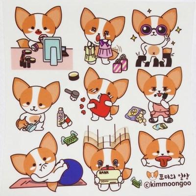 [김문구] 포미의 일상 스티커