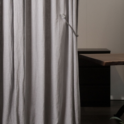 Natural Basic Linen Curtain