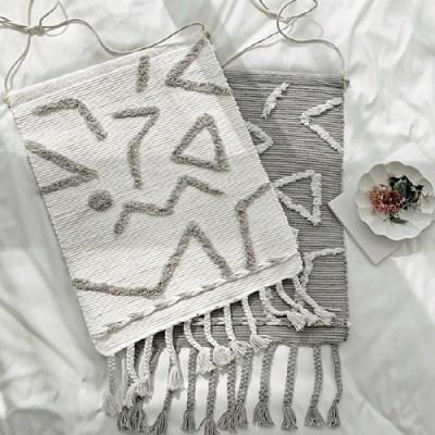 픽토그램 태슬 마크라메 - 2color