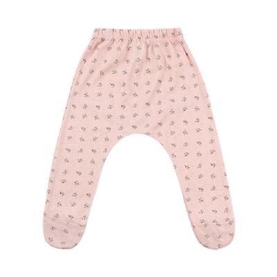 [리틀비티] 베이비 풋 배기 팬츠 (플라워 핑크)_(1021027)