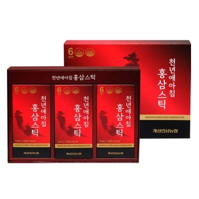 개성인삼농협 천년애아침 홍삼스틱(15ml x 30포)