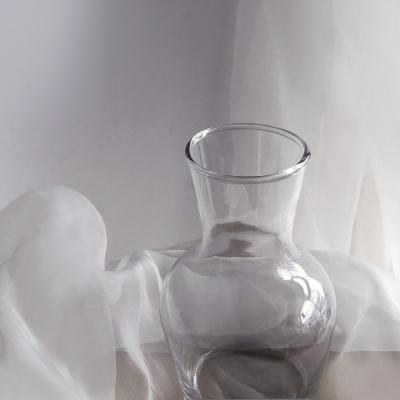 인테리어 화병/ 맑은 투명 유리 화병