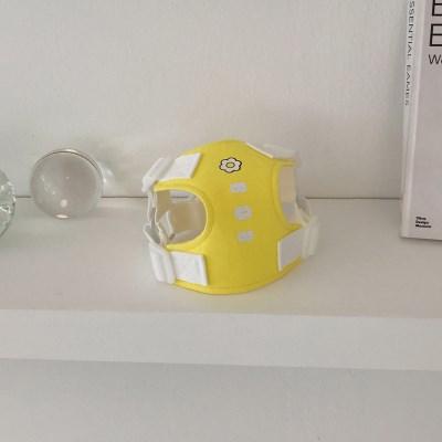 [이름 각인] Daisy harness (yellow)