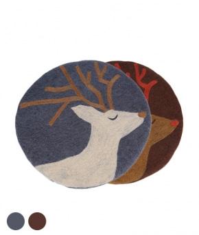 사슴 펠트 방석