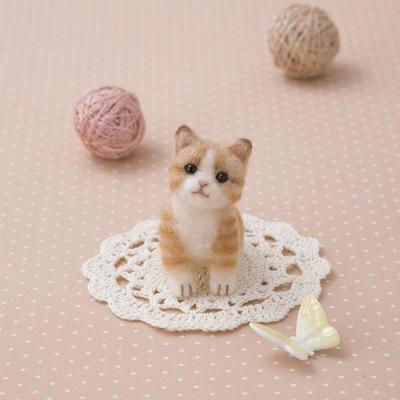 하마나카 아크레루 노란 치즈고양이 키트