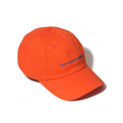 VALUABLE CURVED CAP-ORANGE
