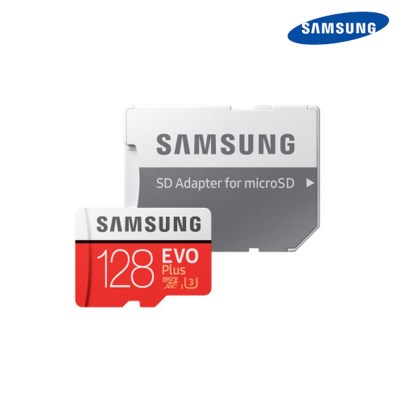 삼성정품 마이크로 SD카드 EVO PLUS 128GB+SD 어댑터 메모리카드