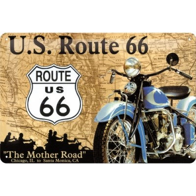 노스텔직아트[20208] Route 66 Map