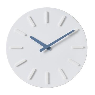 오픈 라운드인덱스 벽시계(블루)