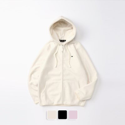 [추가할인] Fleece Hood Zip-Up (U19DTJK42)