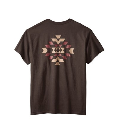 [PENDLETON] 펜들턴(ACC) 바스켓 메이커 반팔 티셔츠 쵸콜렛
