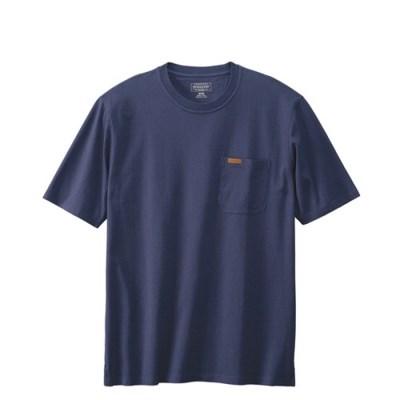 [PENDLETON] 펜들턴(ACC) 데슈트 반팔 포켓 티셔츠 네이비
