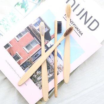 대나무 칫솔 - 플랫