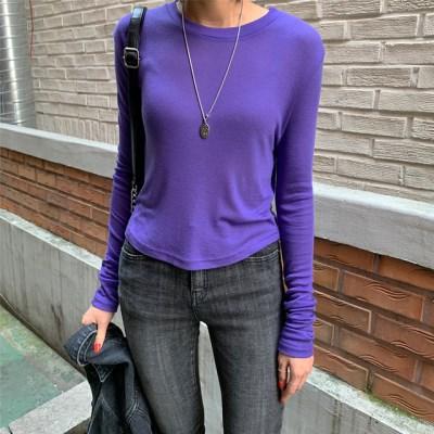2593 텐셀 긴팔 티셔츠 (9color)