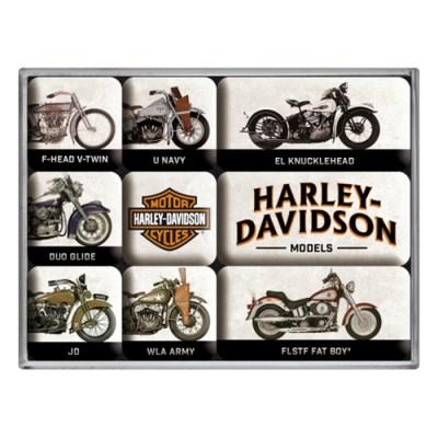 노스텔직아트[83102] Harley-Davidson - Model Chart