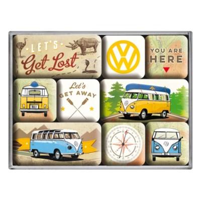 노스텔직아트[83080] VW Bulli - Let's Get Lost