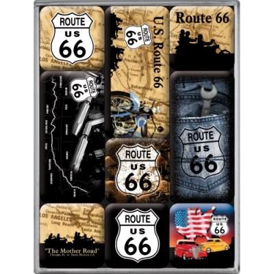 노스텔직아트[83013] Route 66 Map