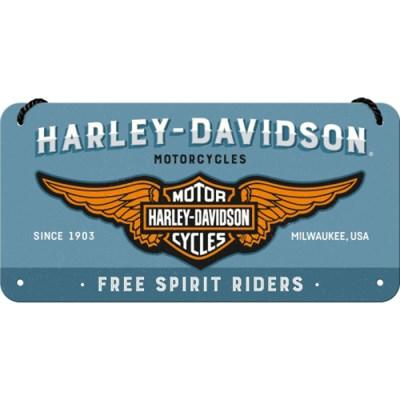 노스텔직아트[28023] Harley-Davidson - Logo Blue