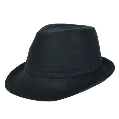 [더그레이]HMF07.솔리드울 페도라 중절모 남성 모자