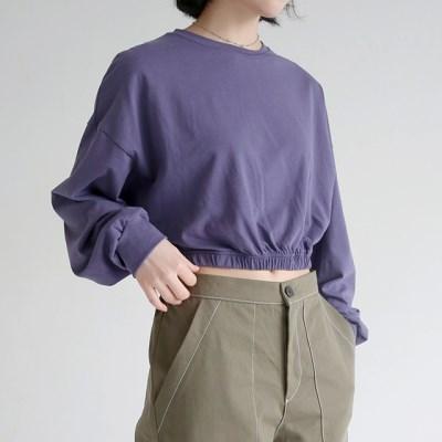 cozy wear crop tee (4colors)_(1320878)
