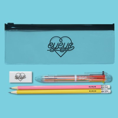 EYEYE STATIONERY SET NO.01_BLACK (EEON3GD008W)