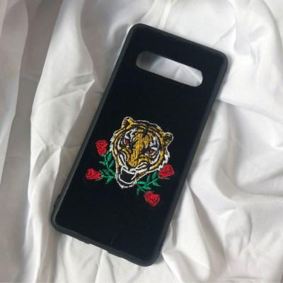 [벨벳 자수케이스]Tiger