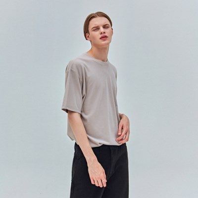 FRESH BASIC T-SHIRTS_BEIGE