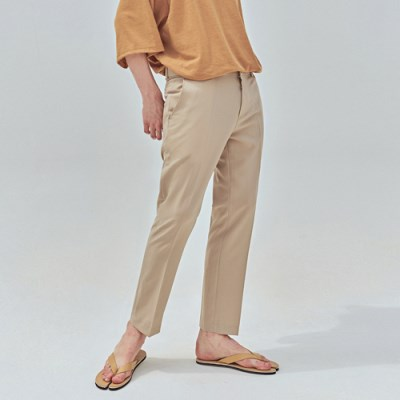 SUMMER SIMPLE SLACKS_BEIGE