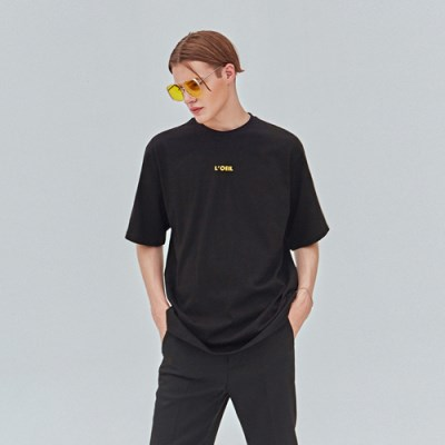 COLOR LOGO TEE_BLACK