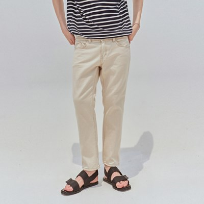 STEADY COTTON PANTS_CREAM