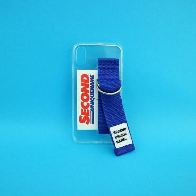 SUN CASE CLEAR BLUE (CARD) (JELLY CASE)