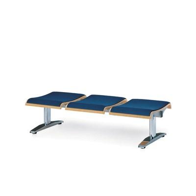 [스코나베이직]우드린 B형 3인 등무 도금 의자_(602728774)