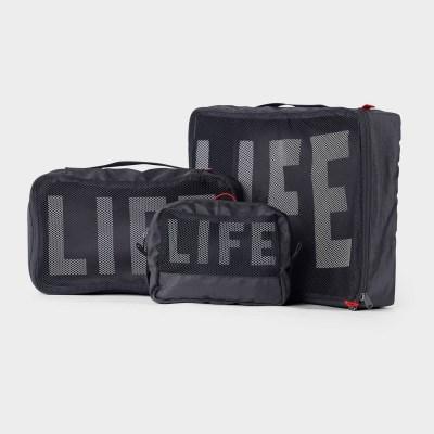 LIFExR PACKABLE POUCH 506 SET_BLACK
