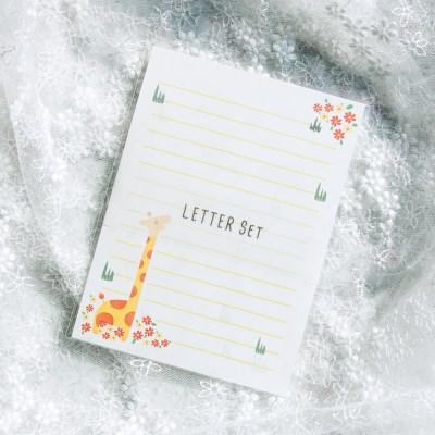 디원 기린 편지지 (JL21)