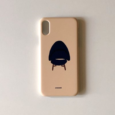 Fabric sofa iphone case