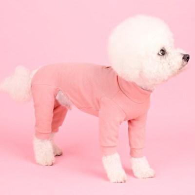 폴라올인원(pink) [어썸키즈] 강아지실내복 대형견옷 S-4XL