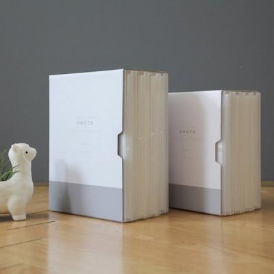 모노클리어앨범 3*5 더블사이즈 4권 세트 (케이스 포함)