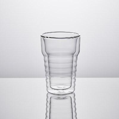 더블월 유리컵 250ml 2P